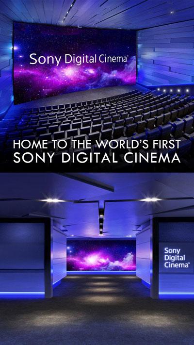 Sony Digital Cinema image