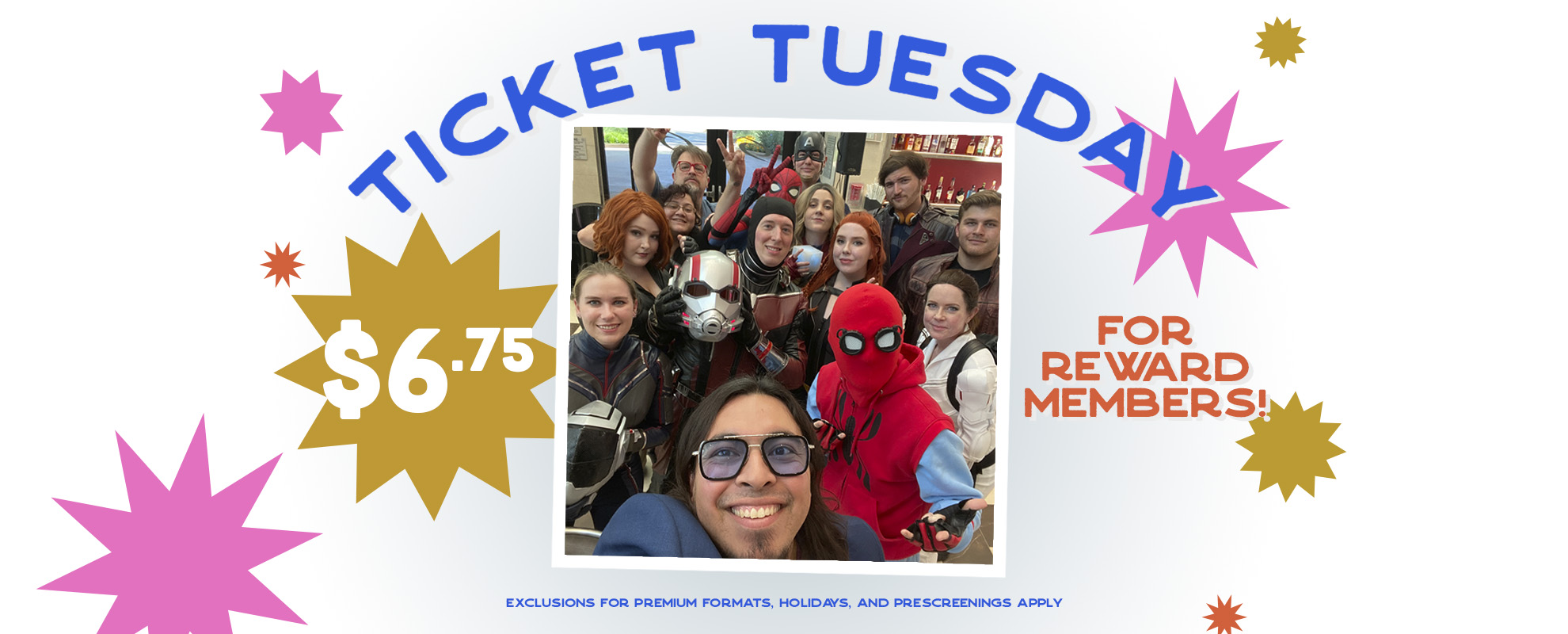 $6.75 Ticket Tuesday image