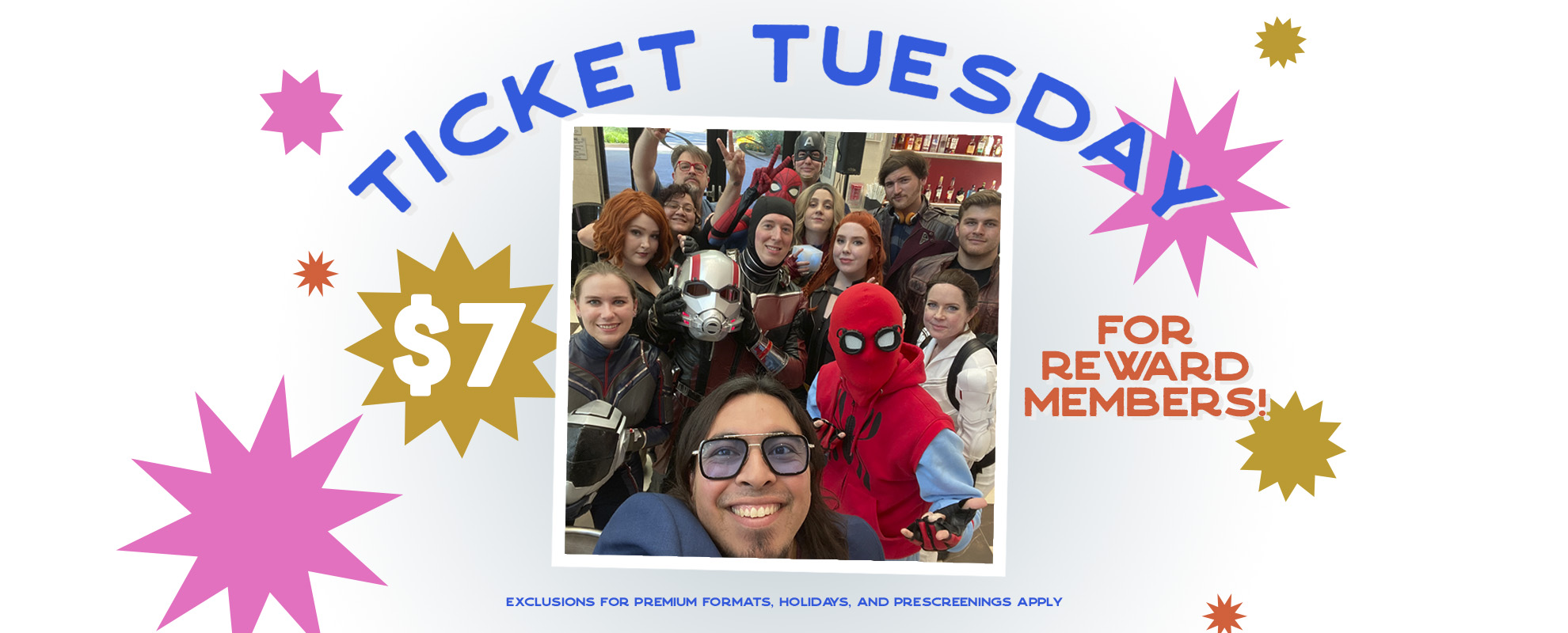 $7.00 Ticket Tuesday image