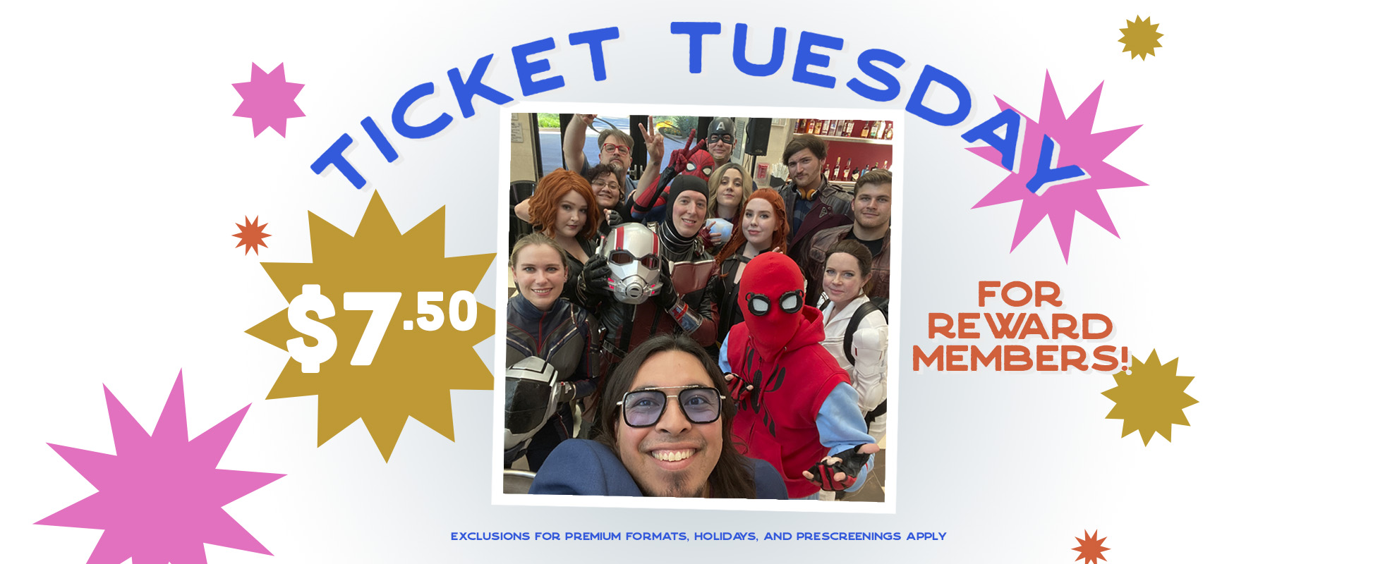$7.50 Ticket Tuesday image