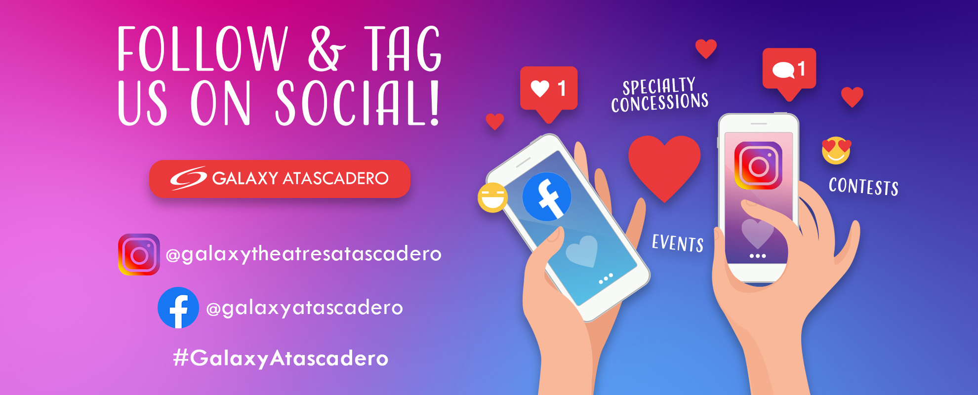 Socials/Hashtag - Atascadero image