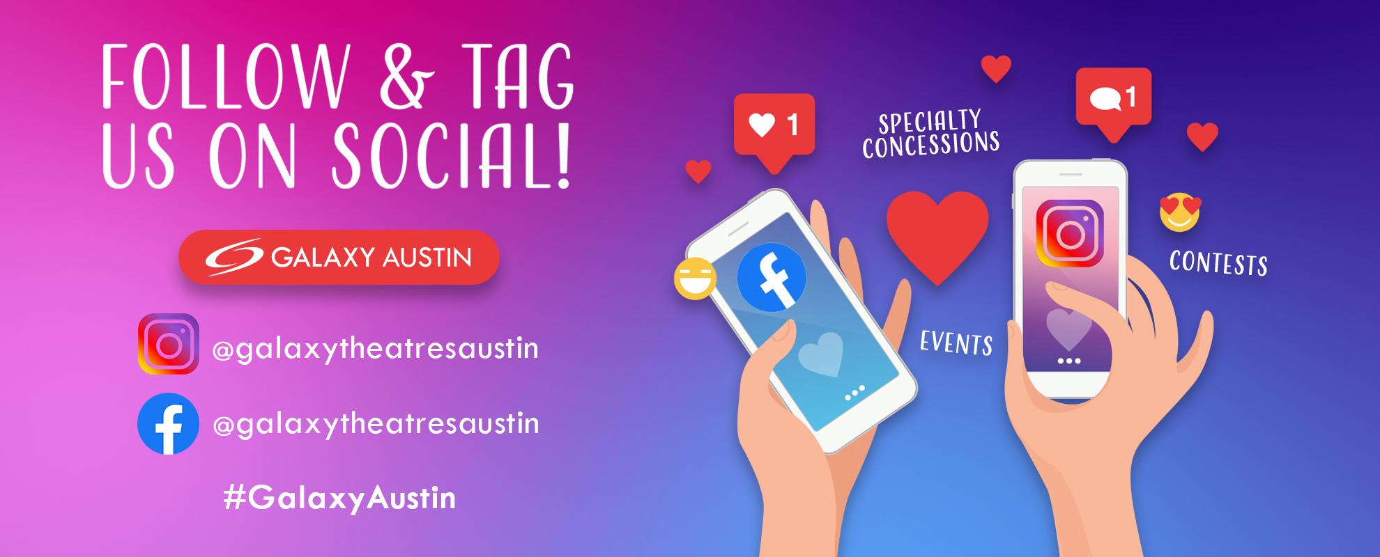 Socials/Hashtag - Austin image
