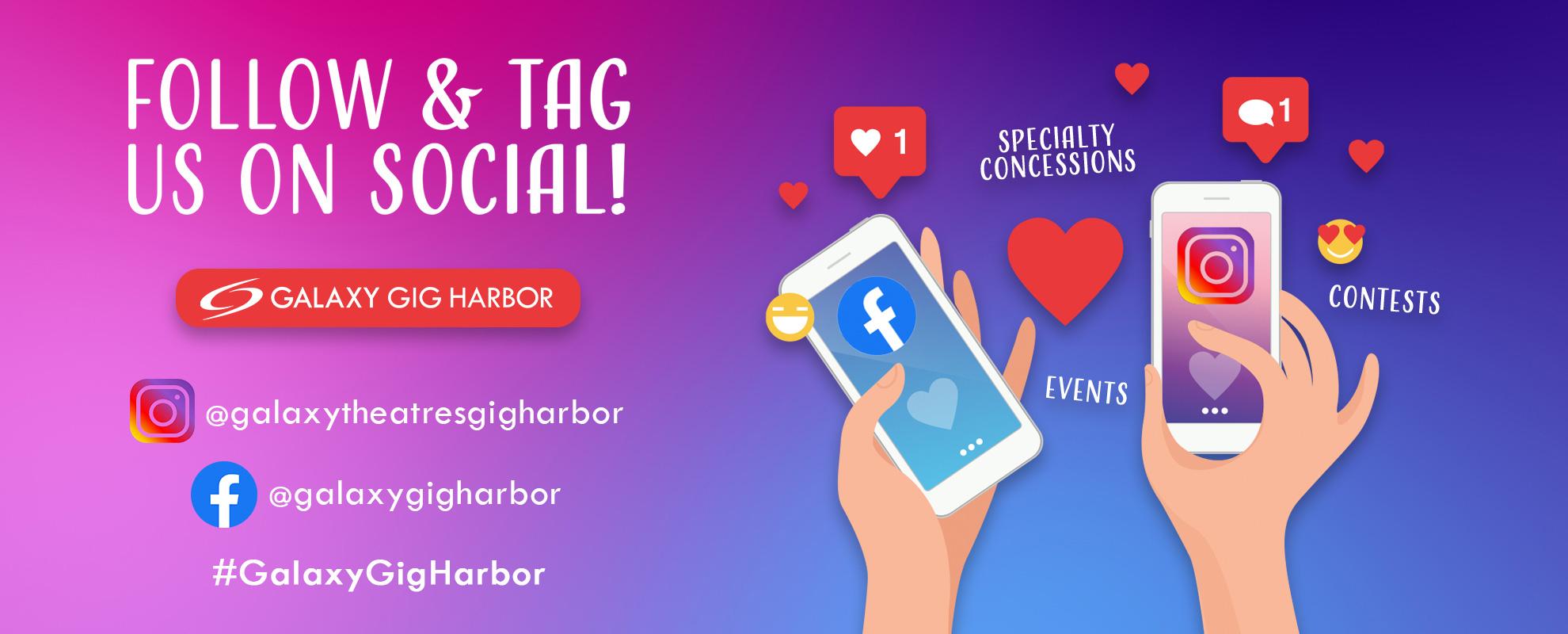 Socials/Hashtag - Gig Harbor image