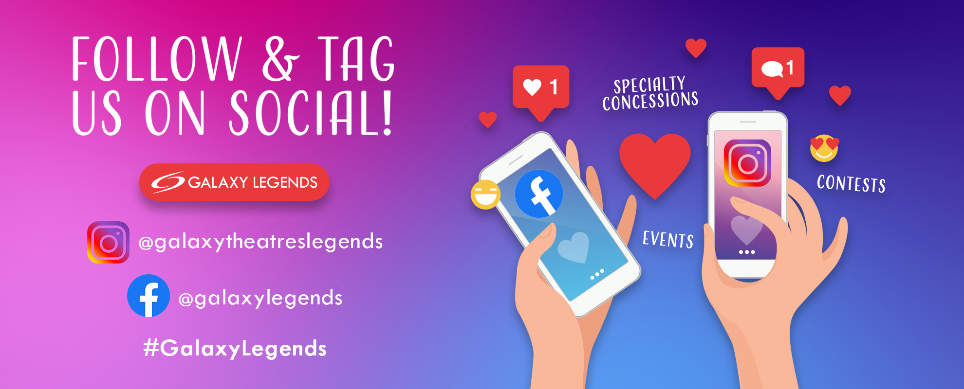 Socials/Hashtag - Legends image