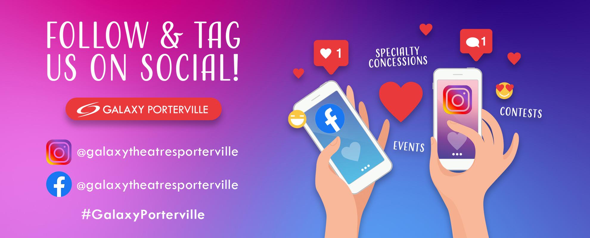 Socials/Hashtag - Porterville image