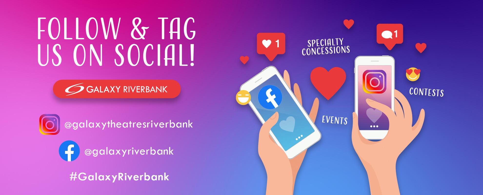 Socials/Hashtag - Riverbank image