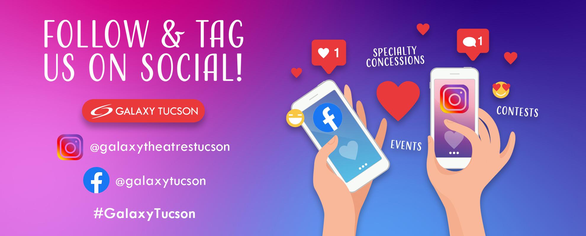 Socials/Hashtag - Tucson image