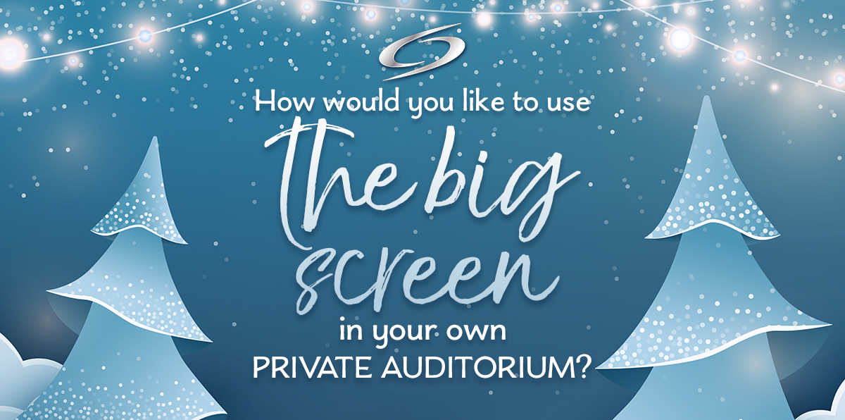 HOW WOULD YOU LIKE TO USE THE BIG SCREEN?! image