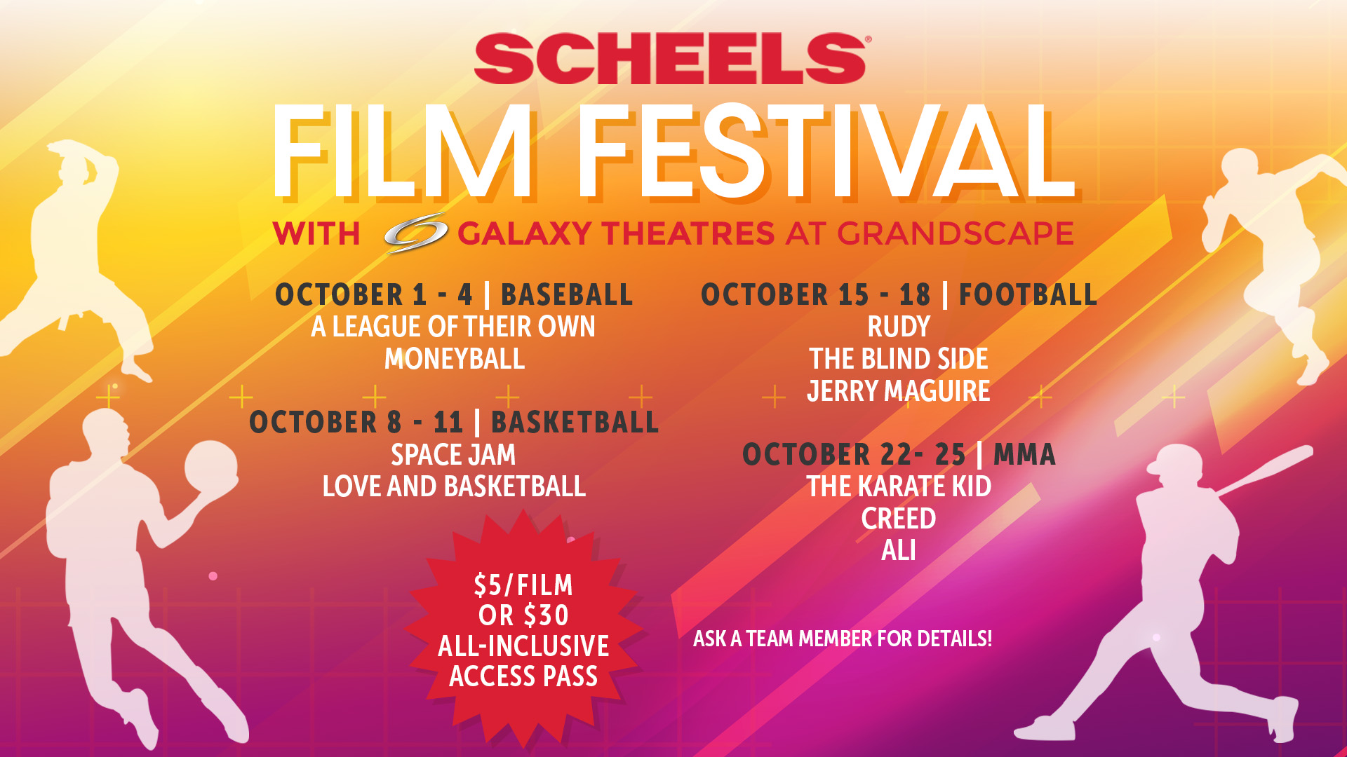 Scheels Film Festival with Galaxy Theatres at Grandscape image