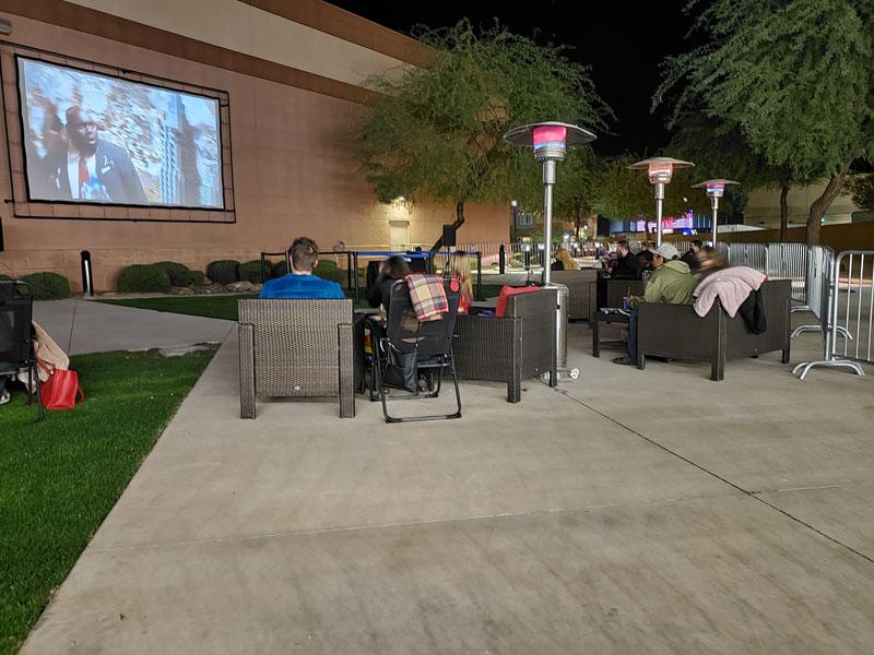 open air cinema photo