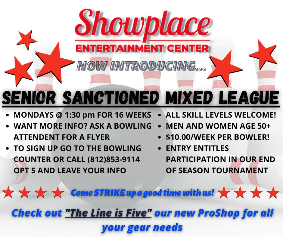 Senior Sanctioned Mixed League