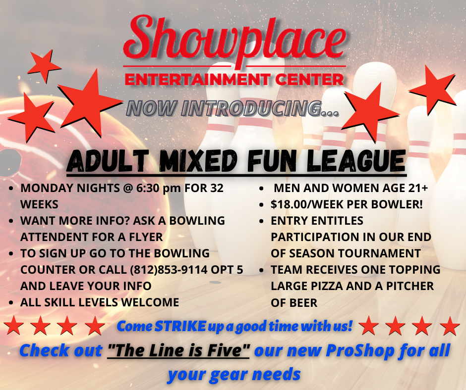 Adult Mixed Fun League